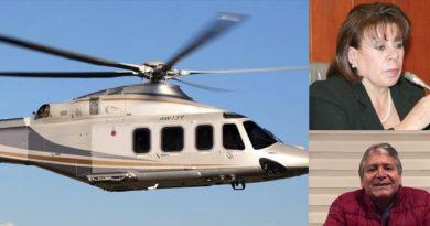 Revelan que Trujillo compró un tercer helicóptero. 2 senadores nariñenses negaron censura