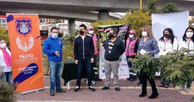 Pasto Salud apadrinó una zona verde en el intercambiador vial Agustín Agualongo