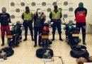 3 tres hombres escondían coca en llantas de moto en Sibundoy