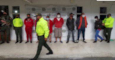 Policía desintegró presunta banda 'Los Papeletas' en Sandoná