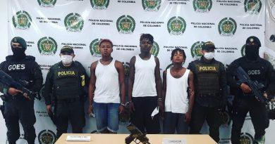 Tres capturados tras señalarlos de varios delitos