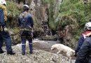 Bomberos avanzan búsqueda de cuerpo en río de Ipiales