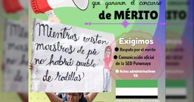 En Putumayo docentes rechazan incumplimiento de Secretaría de Educación