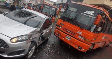 Buses del SIT involucrados en accidentes en Pasto