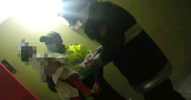 En Pasto rescatan a niña de 2 años