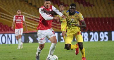 Deportivo Pasto y Santa Fe empataron en El Campín