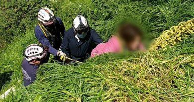 Mujer rodó 20 metros en Ipiales. Ambulancias no llegaron